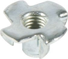 China M4 M6 M8 M10 M12 Stamped Furniture Insert Nut Type A With ISO Certification supplier