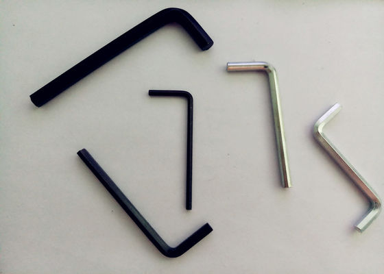 China L Type Z Type 7mm Allen Key , M2-M10 Allen Key With Hole For Screw Bolt supplier