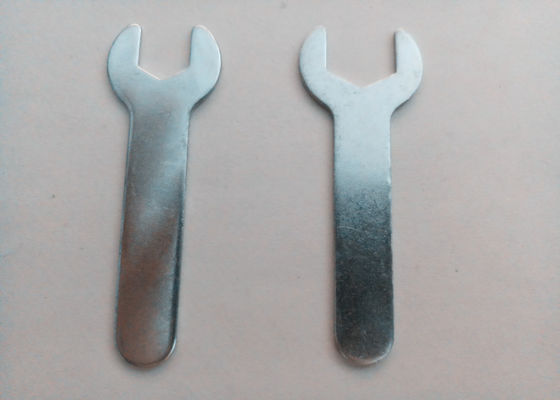 China Heat Treatment Single Ended Open Jaw Spanner Strong Anti - Strike Capability supplier