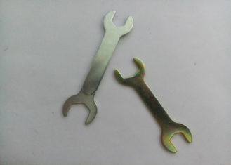 China Double Head Open End Spanner 45 Carbon Steel With Structural Stability supplier