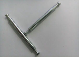 China Sliver Knock Down Furniture Hardware , Double Threaded Bolt Long Using Life supplier