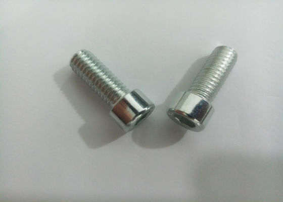 China White Zinc Finished Hex Socket Iron  Cup Head Allen Bolt  For Furniture supplier