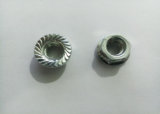 China Flange Furniture Insert Nut Yellow Galvanized For Increasing The Holding Power supplier