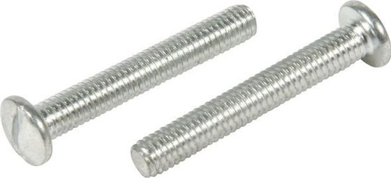 China White Zinc Slotted Truss Head Machine Screw , Internal Hex Head Screw 4.8 Grade factory